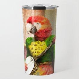Banjo Birdy Plucks a Pretty Tune! Travel Mug