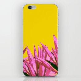 Pop art agave iPhone Skin