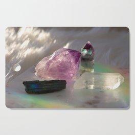 Crystals + Rainbows 1 Cutting Board