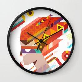 Fire Catcher Wall Clock