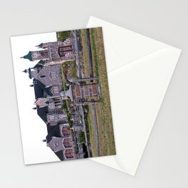 Stone Mansion on the River Stationery Cards