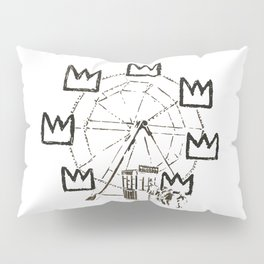 Ferris Wheel, Banksy Pays Tribute To Jean-Michel Basquiat, Artwork, Tshirts, Posters, Bags, Prints, Pillow Sham