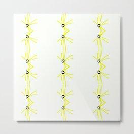 Yelo.  Metal Print