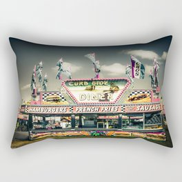 Fair Food  Rectangular Pillow