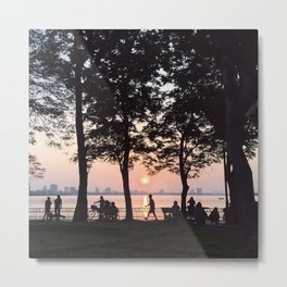 sunset - westlake Metal Print