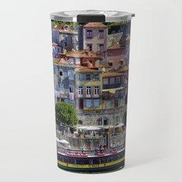 Porto houses, Portugal Travel Mug