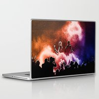 u2 Laptop & iPad Skins featuring U2 / Adam Clayton / The Edge by JR van Kampen