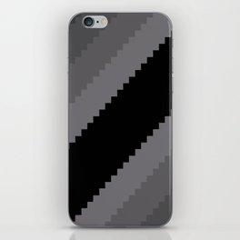 Pixel Old Hollywood Dremas - Monochrome Grey iPhone Skin