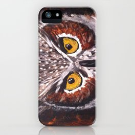 Night Owl... iPhone Case