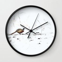 Ring-necked Pheasant 2 Wall Clock