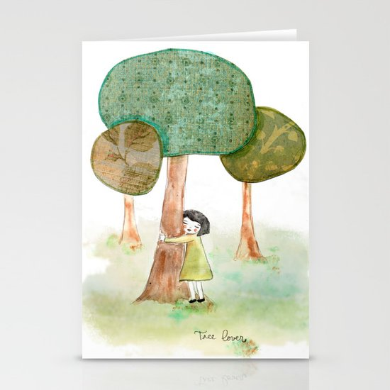 Tree Lover Stationery Cards