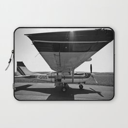 Sky Dive Airplane Laptop Sleeve