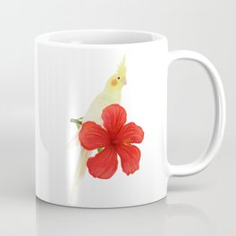 Lutino Cockatiel Coffee Mug