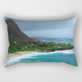 A Postcard Home from Paradise Rectangular Pillow