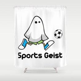 Sports Geist Shower Curtain