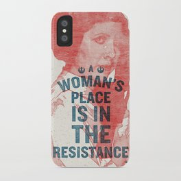 A Woman's Place iPhone Case