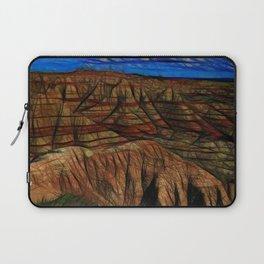 South Dakota Badlands Tall peaks Laptop Sleeve