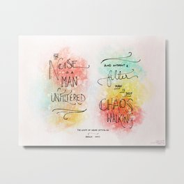 Filter - Chaos Walking Metal Print