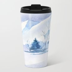 Winter scenery #2 Metal Travel Mug