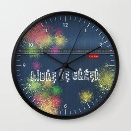Denim Jeans - Libre De Créer Wall Clock