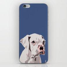 WhiteDog iPhone & iPod Skin