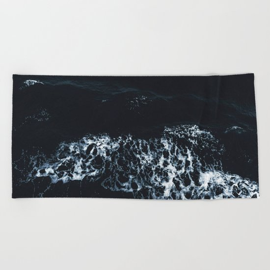 Crash Me With Silence Beach Towel