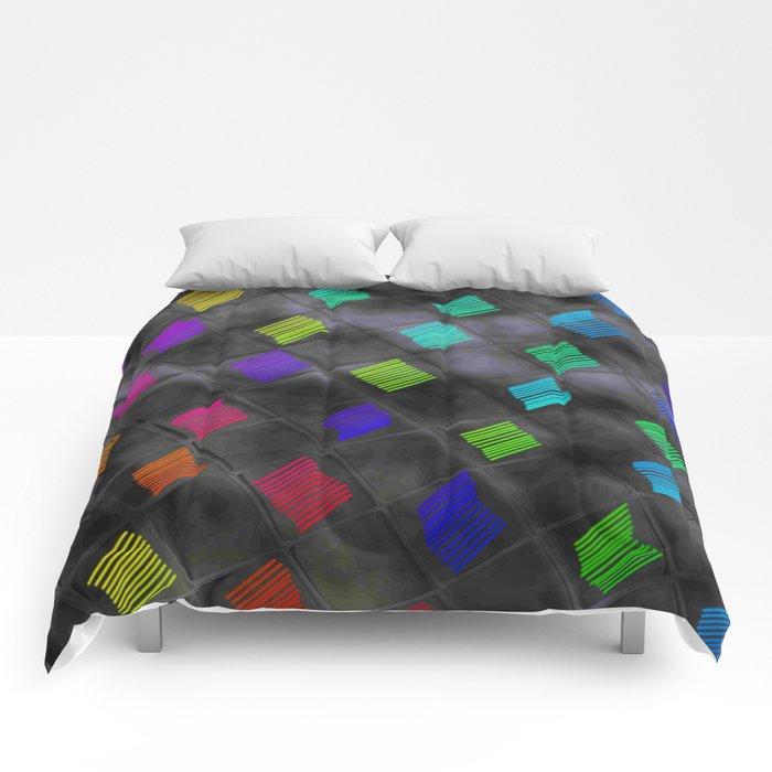 Square Color Comforters