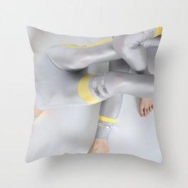 Legs Maze Throw Pillow