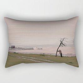 The Sacrifice Tree Illustration Rectangular Pillow
