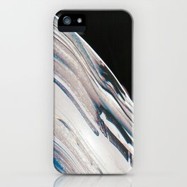 Space Time Blur iPhone Case