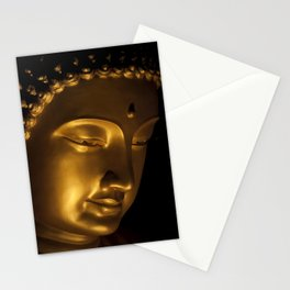 Photograph of a Buddha taken in Malaysia III Stationery Cards