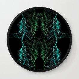 Techno Tree Wall Clock