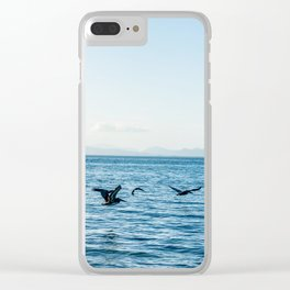 Flying Flock Clear iPhone Case