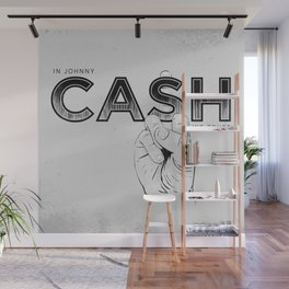 In Johnny Cash We Trust. Wall Mural