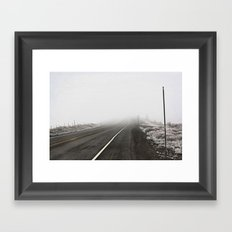 CA Route 267 Framed Art Print