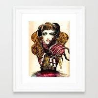 lobster Framed Art Prints featuring Lobster by Felicia Atanasiu
