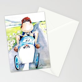 New car Stationery Cards