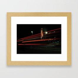NCSU Memorial Bell Tower Framed Art Print