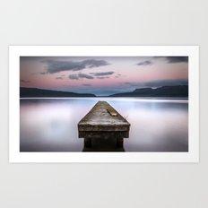 Lake Tarawera - Rotorua - New Zealand Art Print