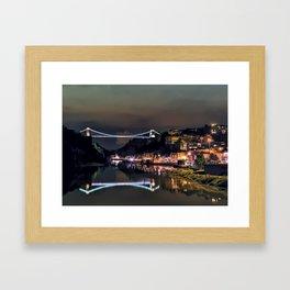 Clifton Bridge Framed Art Print