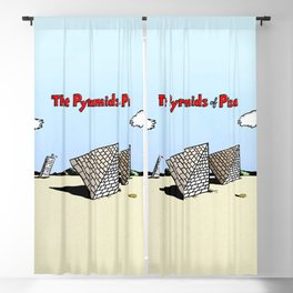 The Pyramids of Pisa Blackout Curtain
