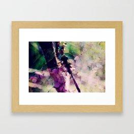 Dragonfly :: Limelight Framed Art Print