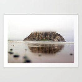 Morro Bay, California Art Print