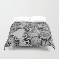 gray Duvet Covers featuring Gray  by rskinner1122