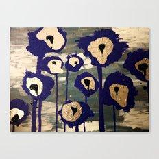Bleeding Lilies Canvas Print