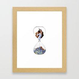 Hourglass of Love (Hayez) Framed Art Print