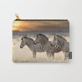 Zebra Photos Carry-All Pouch