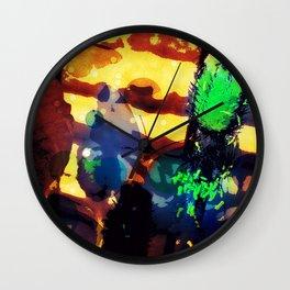 Les coquelicots [2] Copper tremens Wall Clock