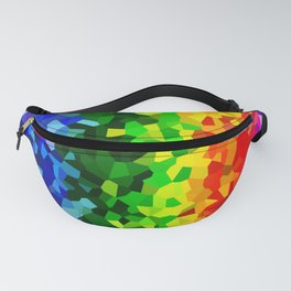 Rainbow Moon Love Fanny Pack
