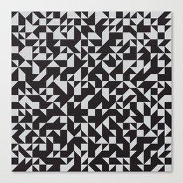 Girard Inspired Geometric Pattern Canvas Print